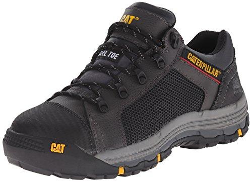 Caterpillar Men's Convex Lo Steel Toe Work Shoe, Black, 7 M US