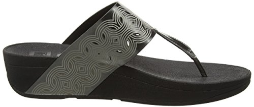 Fitflop Bahia - Sandalias Mujer Gris - Grey (Pewter)
