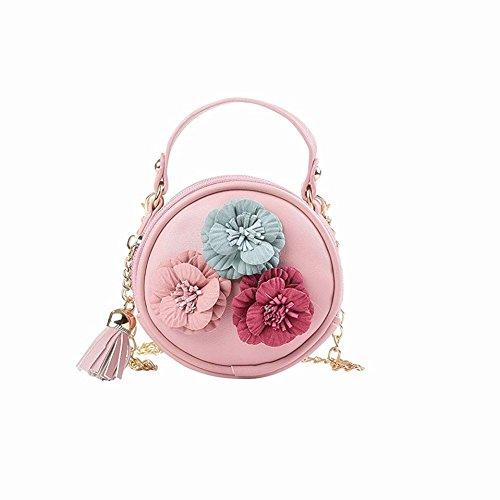 Shoulder Mini Teenager Flower Baby Messenger and Bag Crossbody Bag Purse Children for Handbag Kids Princes Toddler Girls dUTcFEWdq
