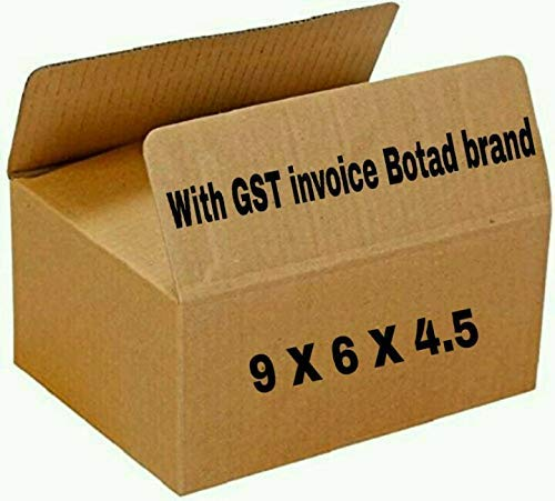 Botad 3 Ply Plain Corrugated Golden Boxes/Gift Packaging Boxes 9 inch x 6 inch x 4.5 inch (50) Price & Reviews