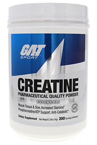 GAT Creatine Monohydrate Powder, 1000 grams