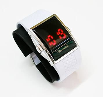 Reloj Deportivo Digital Led Silicona para Padel Calidad Unisex Sport Nuevo 1084: Amazon.es: Electrónica