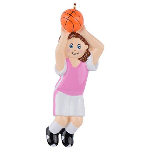 Basketball Christmas Holiday Ornament - 1