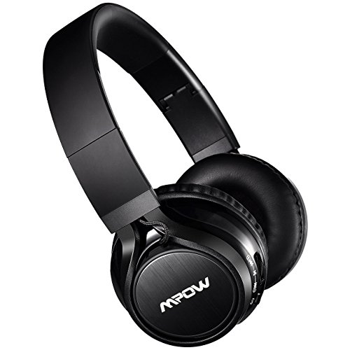 mpow thor bluetooth headphones on ear 40mm driver wireless headset foldable with mic wired and. Black Bedroom Furniture Sets. Home Design Ideas