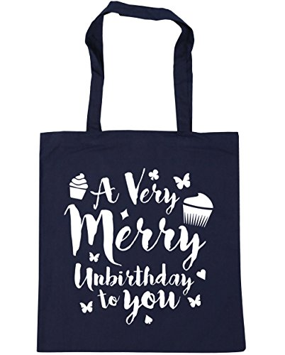 Beach Unbirthday Shopping 10 Navy Very Bag Merry Gym x38cm To HippoWarehouse Tote You French A 42cm litres AqxzWFqw0t