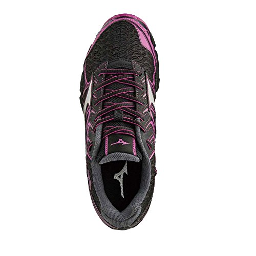 Hayate Mizuno Shoes 4 WOS Women's Black Wave Black Running HPOPp6n