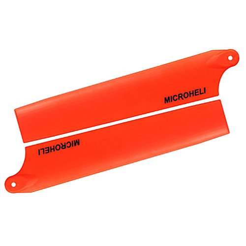 - Plastic Main Blade 105mm, Orange: Blade mCP X