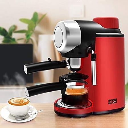SHUHAO Cafetera, Semi-Automática Máquina De Café Expreso, 5 ...