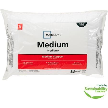 Mainstays Medium Pillow hot sale 2017