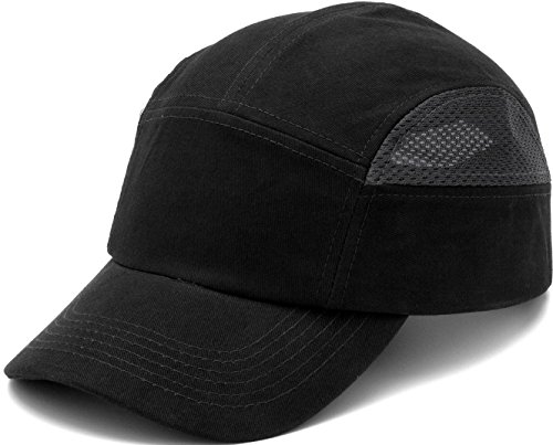 Pyramex Safety HP500 Baseball Bump Cap, Black & Gray