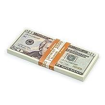 PROP MONEY, (80)New 20 dollar bill, Fake money For Movies, Pranks, Play money for kids