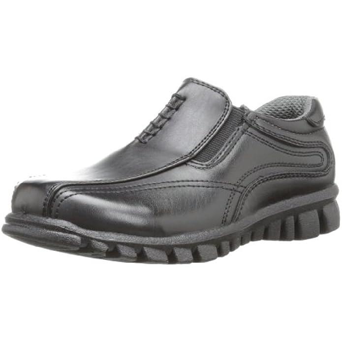Deer Stags Stadium Sneaker Bottom Dress Comfort Slip-On (Little Kid/Big Kid)