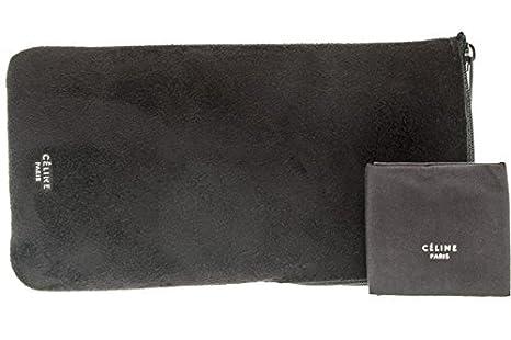 Amazon.com: Celine Geo Plaza cl41756 ZZ parte superior negro ...