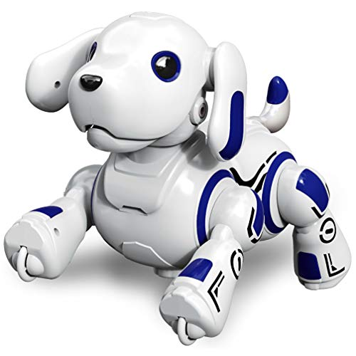 Hi-Tech Wireless Remote Controlled Robot Dog Interactive Robot Puppy for