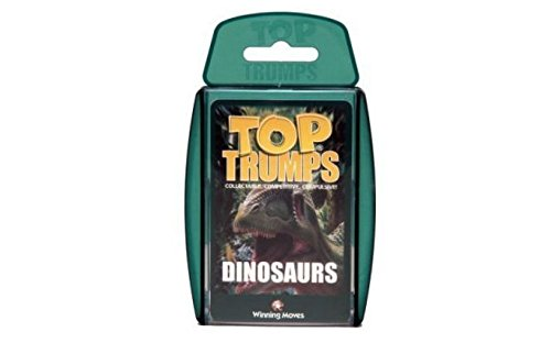 Holland Plastics Original Brand TOP TRUMPS - DINOSAURS! Perfect for indoors, travelling, camping and holidays by Holland Plastics Original Brand
