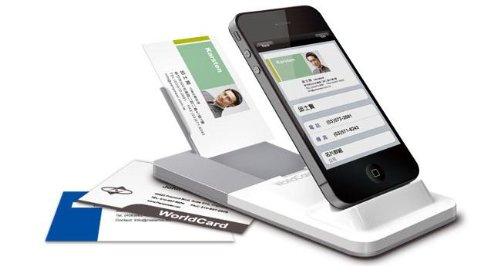 Alestron - BUSINESS CARD READER FOR IPHONE WITH CONTACT MANAGEMENT FOR PC