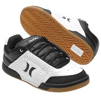 0508d9018b36 Amazon.com  Hurley Men s Skate For Life (White Black 9.5 M)  Shoes