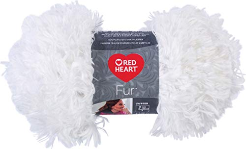 Red Heart Boutique Fur Yarn Snow product image