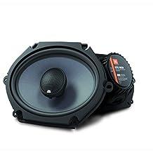 JBL GTO 9 Series 180W 5-Inch X 7-Inch/6-Inch X 8-Inch Coaxial Speakers-Pair-Black