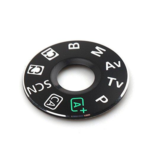 Pixco Dial Mode Plate Interface Cap Replacement Part for Canon EOS 6D Digital Camera Repair