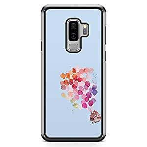 Loud Universe Movie Up House in the air Samsung S9 Plus Case Cartoon Movie Samsung S9 Plus Cover with Transparent Edges