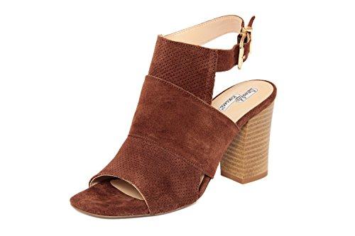 Arnaldo Toscani FEMME - sandale à talon en cuir - 8078100_CAMOSCIO_RUGGINE