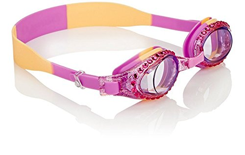 [Swimming Goggles For Girls - New Glitter Classic Kids Swim Goggles By Bling2o ( PB & Jelly)] (Red Baron Baby Costume)