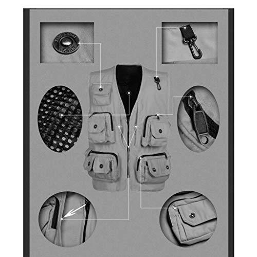 Emmay Pesca Caccia Fotografia Di Essenziale Stagioni Verde Quattro Rapida Pocket Strumenti Nner Multi Outdoor Men Camping Asciugatura xAxrpw