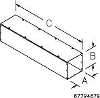 Hoffman F88t112gvp Wireway Nema 1 Straight Section Flat Cover