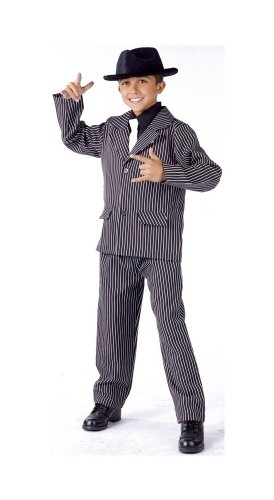 Gangster Boy Costume - Child Costume - -