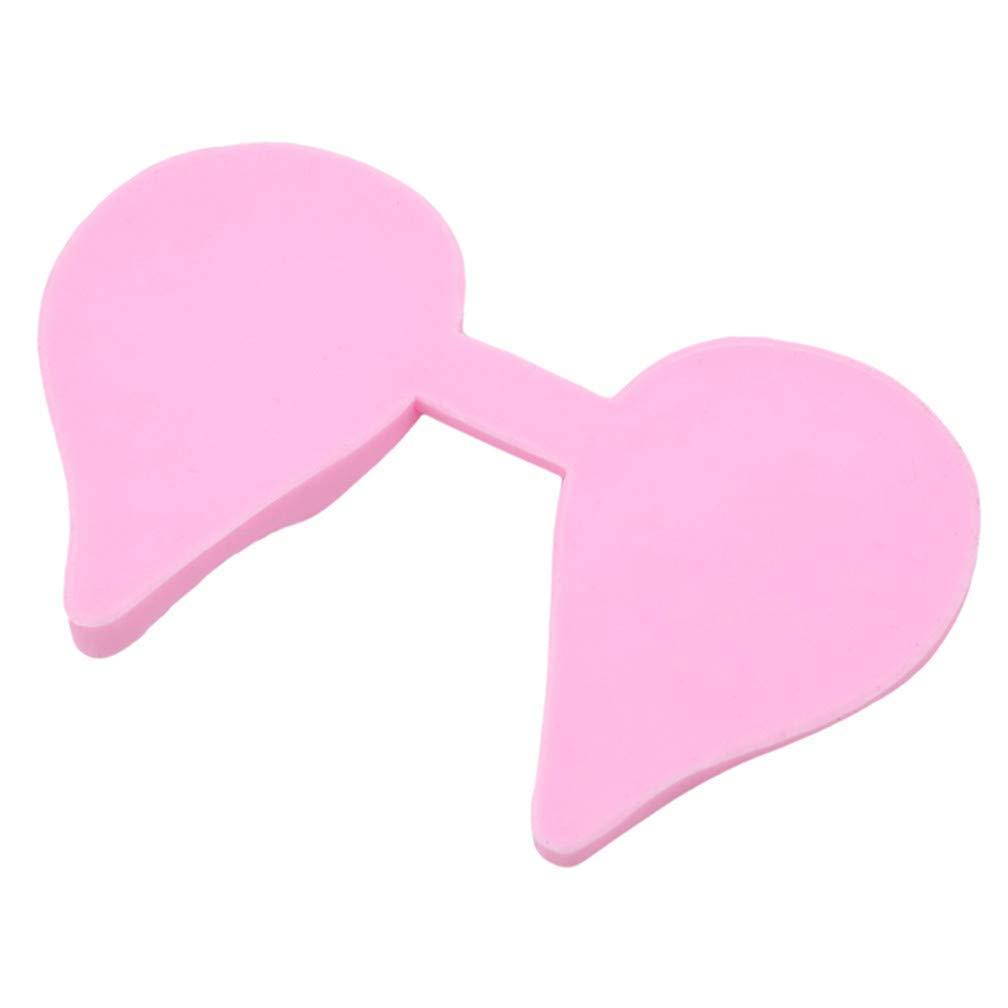 Aofocy Outils durables de d/écoration de g/âteau de Fondant de moule de silicone de feuille de p/étale de fleurs roses durables