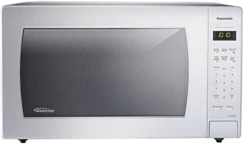 Countertop Microwave 2.2 cu. ft. with Inverter Technology and Genius One-Touch Sensor Cooking in White Finish