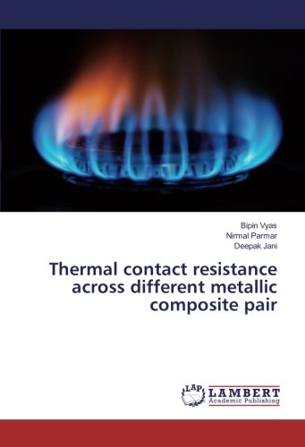 Thermal contact resistance across different metallic composite pair