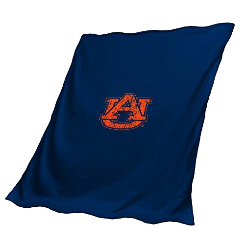 Throw Auburn Tigers Fleece (Logo Brands NCAA Auburn Tigers Unisex Sweatshirt Throwscreen Ss Throw, Blue, 0)