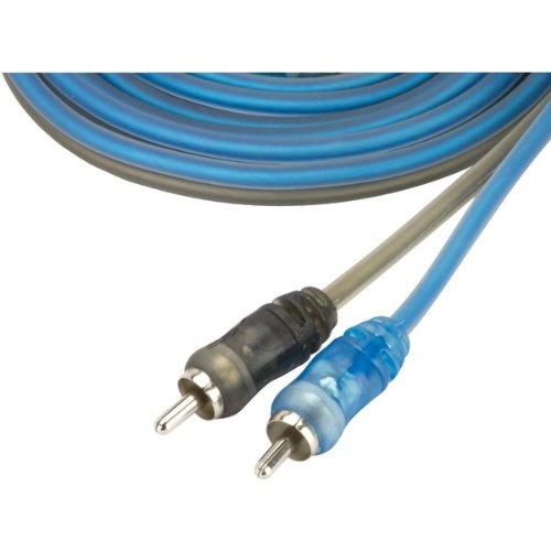 SCOSCHE EFXRC1 1 Core Coax RCA Cable; split-tip, micro barrel,