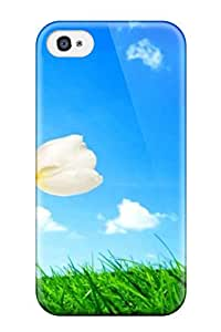 Premium Protection Animated Desktop Case Cover For Iphone 4/4s- Retail Packaging