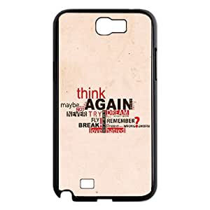 Samsung Galaxy N2 7100 Cell Phone Case Black quotes sayings 5 1 LSO7747596