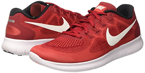 Scarpe Free White Crims Red 2 Running Uomo total Red off Rosso Nike game Rn track tdpx76tq