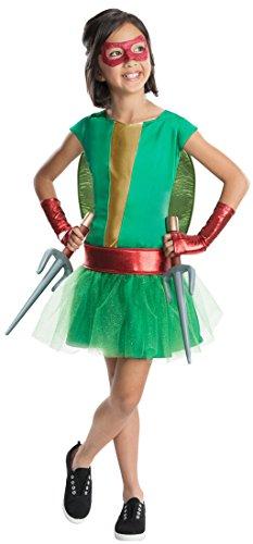 Rubies Teenage Mutant Ninja Turtles Deluxe Raphael Tutu Dress Costume, Child Small - Cute Outfits For Teenage Girls