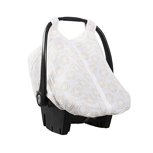 Bebe Au Lait Muslin Car Seat Cover, Halo