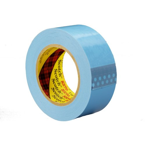 Scotch Film Strapping Tape 8896 Blue, 24 mm x 55 m (Pack of 1) ()
