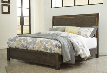 Ashley Furniture Camilone Panel Footboard King/California King/Dark Gray