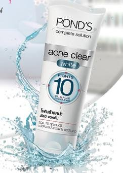 ponds-acne-clear-white-multi-action-foam-100g