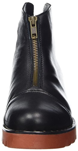 Eden 1 Black Nova Women's Black Apple Boots Biker of 7qBOwA
