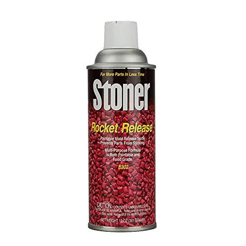 Mold Release | Stoner E302''Rocket'' Release | Case of 12 Aerosol Cans by BJB Enterprises