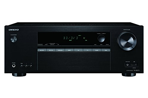 - Onkyo TX-SR373 5.2 Channel A/V Receiver with Bluetooth