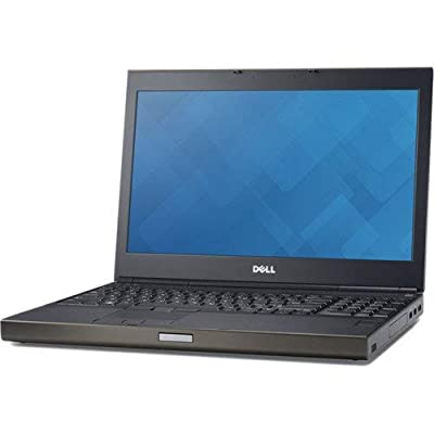 "Dell M4800 15.6"" FHD Ultrapowerful Mobile Workstation Business Laptop Computer, Intel Core i7-4900MQ 3.8Ghz, 16GB RAM, 500GB HDD, WiFi AC, NVIDIA Quadro K2100M, Windows 10 Pro (Certified Refurbished)"