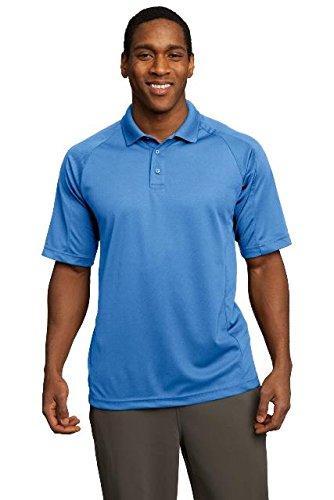- Sport-Tek Dri-Mesh Pro Polo Shirt, 3XL, Carolina Blue