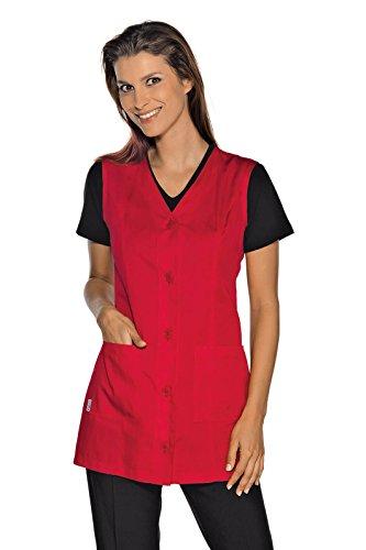 Isacco-túnica médica Tropea sin mangas, color azul Rosso 65% Poliestere 35% Cotone