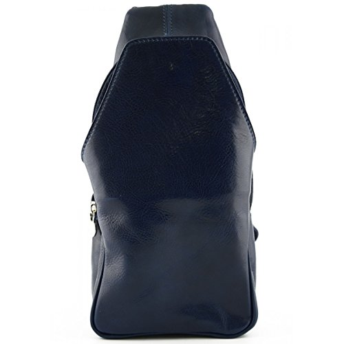 Artificiale Controllare Sognare Zaino In Genuino Realizzati Tasca Sacchetto Pelliccia Blu Italia Della Frontale Pelle Borse Con Monoespalda ZaWf0nW1wr